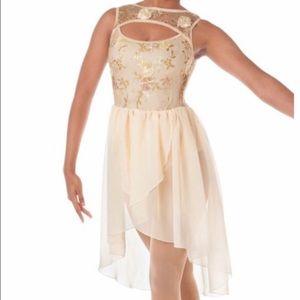 *3/$50* LAYLAS Sequin Floral Lyrical Dance Costume